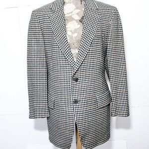 Vintage Pendleton Plaid Wool Blazer Jacket 16/XL